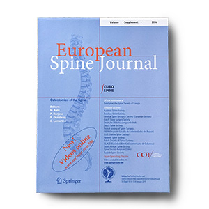 European Spine Journal (front cover)